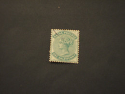 NATAL - 1874/80  REGINA 1/2 P. - TIMBRATO/USED - South Africa (...-1961)