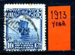 CINA - Year 1913 - Usato - Used . - China