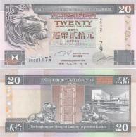 Hong Kong - 20 Dollars 1993 UNC/aUNC Lemberg-Zp - Hong Kong