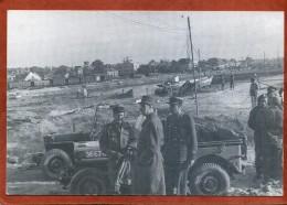14  CPM De COURSEULLES SUR MER  Le Général De Gaulle Le 14 Juin 1944  Edition Ouest-France   Très Bon état - Courseulles-sur-Mer