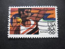 USA Poste Aérienne N°95 JEUX OLYMPIQUES De LOS ANGELES 1984 Oblitéré - Zomer 1984: Los Angeles