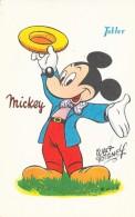 Walt Disney - Mickey Avec Pub Pour Les Chocolats Tobler - Disney