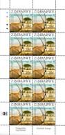 Zimbabwe - 2007 SAPOA 2nd Joint Issue Antelope Set Of Sheets (**) # SG 1244-1248 - Emissions Communes
