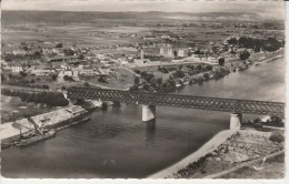 27 - LE MANOIR SUR SEINE - Le Pont  Du Chemin De Fer Sur La Seine - Le Manoir