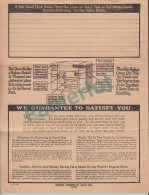Order Blank Sears, Rebuck And Co. With Envelope - 4 Scans - Canada