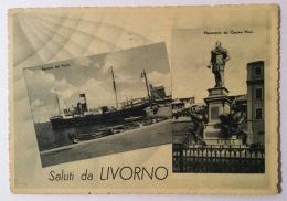 Saluti Da Livorno Del 1942 Viaggiata In Ottimo Stato F.g. - Livorno