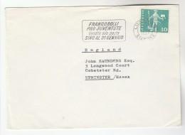 1964 SWITZERLAND Stamps COVER SLOGAN Pmk FRANCOBILLI PRO JUVENTUTE  VENDITA ALLA POSTA SINO AL 31 GENNAIO - Covers & Documents