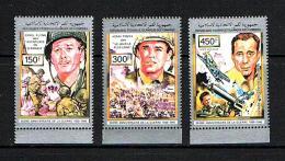 Comoro Islands Sc # 760 / 762  MNH **  WW  II Movies - Seconda Guerra Mondiale