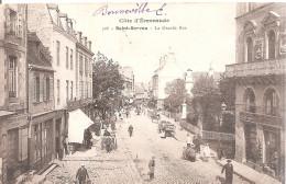 Saint - Servan . La Grande Rue .. - Saint Servan