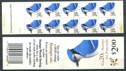 172 ETATS UNIS (USA) 1995 - Yvert Carnet C 2354 - Oiseau Geai Bleu - Neuf ** (MNH) Sans Charniere - Unused Stamps