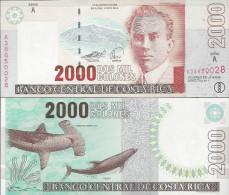Costa Rica 2005 - 2000 Colones - Pick 265 UNC - Costa Rica