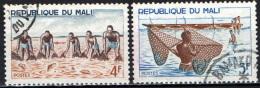MALI - 1966 - PESCATORI AFRICANI - USATI - Mali (1959-...)