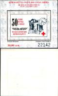 83899) Macedonia-1995-settimana Della Croce Rossa -BF -n.10a-cat-3 Euro Nuovo Non Dentellato - Macedonia