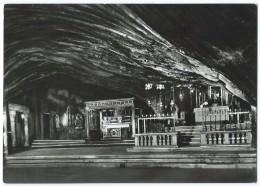 MONTE SANT'ANGELO (Italie-Foggia) -Grotte Préhistorique De S. Michele -Apparition -CPSM N&B Non écrite -Scan Recto-verso - Italie