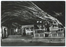 MONTE SANT'ANGELO (Italie-Foggia) -Grotte Préhistorique De S. Michele -Apparition -CPSM N&B Non écrite -Scan Recto-verso - Italia
