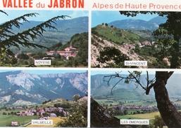 (D) 04  Vallee  Du Jabron  Villages  Provencaux  Au Pied De La Montagne De Lure - Francia