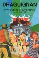 VAR 83 DRAGUIGNAN   1995 LE CINEMA COLLAGE DE FABIEN MOREAU - Bourses & Salons De Collections