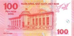 VIETNAM P. 125 100 D 2016 UNC - Vietnam