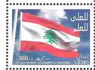 MNH Stamp Lebanese Flag Day Lebanon Liban 2015 - Lebanon