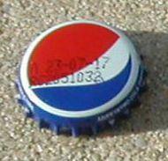 Grèce Crown Cap Capsule Pepsi Cola - Limonade