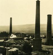 Caucase Transcaucasie Grozny Petrole Russie Грозный Tchétchénie Ancienne Photo Stereo NPG 1906 - Stereoscopic