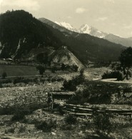Caucase Transcaucasie Route Militaire De Georgie Village De Glola Ancienne Photo Stereo NPG 1906 - Stereoscopic