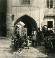 Caucase Transcaucasie Bakou Bazar Persan Azerbaïdjan Bakı Ancienne Photo Stereo NPG 1906 - Stereoscopic