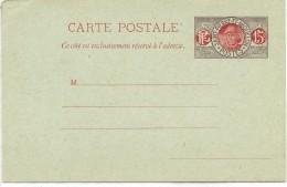"""CIRC7 - ST PIERRE ET MIQUELON  CARTE POSTALE  """"PECHEUR"""" 15c NEUVE ACEP N° CP8 - Entiers Postaux"""