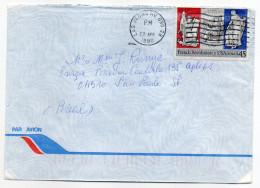 USA--1990- Lettre Pour Sao Paulo  (Brésil )--timbre (French Revolution) Seul Sur Lettre--cachet LAS VEGAS - United States
