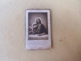 Image Pieuse  Souvenir De  Communion Solennelle - Imágenes Religiosas