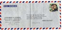 Espagne--1976--Lettre De VALENCIA Pour VILLEJUIF (France)--timbre Seul Sur Lettre Personnalisée - 1931-Hoy: 2ª República - ... Juan Carlos I