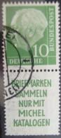 ALEMANIA - MICHEL S 21 - USADO - ¡¡ DIENTES IFERIORES MAL !! - - ( K204 ) - Stamps