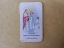 """Image Pieuse  Communion Solennelle ( Environs D'argentan """" Le Bourg Saint Léonard  )dep61 - Imágenes Religiosas"""