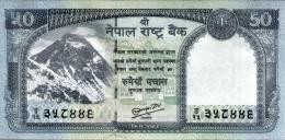 NEPAL 50 RUPEE  BANKNOTE 2013 MINT UNCIRCULATED - Nepal