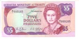 Bermuda 5 Dollars (1989) First Date - UNC R! - Bermudas