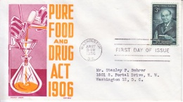 U.S.  FDC  COVER   FOOD  AND  DRUG  ACT - Pharmacy