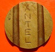VINTAGE FICHA TOKEN - URUGUAY N/D TELEPHONE COMPANY ANTEL - Jetons En Medailles