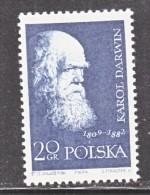 POLAND   880   **    DARWIN - 1944-.... Republic