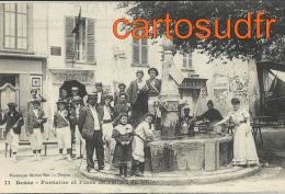 83 BESSE PLACE DE L´HÔTEL DE VILLE FONTAINE CONSCRITS ? COIFFEUR TOP SPLENDIDE - Besse-sur-Issole