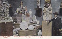 MEXIQUE---MEXICO--museo Nacional En El Departamento De Arqueologia- Voir 2 Scans - Mexique