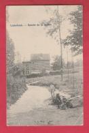 Linkebeek - Entrée De La Vallée ... Enfants Occupés à Jouer - 1906 ( Verso Zien ) - Linkebeek