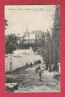 Linkebeek - Serres Du Château Et Vue De L'Eglise ... Enfants En Promenade - 1906 ( Verso Zien ) - Linkebeek
