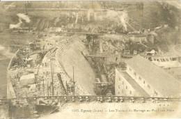 (36) EGUZON : Les Travaux Du Barrage Au Pont Des Piles - France