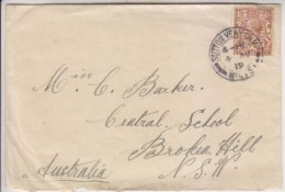 Great Britain: 1919 To Australia. From SUTTON VENY Camp. WWI Recuparation Center. 31 Aust. Soldiers Burried There. - Sonstige
