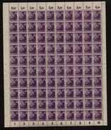 SBZ-Bogen ,Nr.2A,mit I,XI,xx  (M4) - Sowjetische Zone (SBZ)