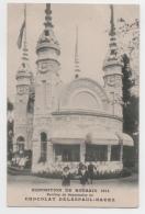 """59 NORD - ROUBAIX Exposition De 1911, Pavillon """"Chocolat Delespaul-Havez"""" - Roubaix"""
