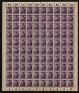 SBZ-Bogen ,Nr.2A,mit III,X,xx  (M4) - Sowjetische Zone (SBZ)