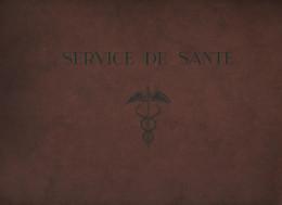 Hôpital Villemanzy Lyon Service De Santé EOR 1933 Silhouettes Manceau Morvan Reynaud Rey Pharmacien - Militaria