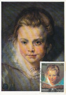 D26214 CARTE MAXIMUM CARD 1971 SHARJAH - YOUNG CHILD BY RUBENS CP ORIGINAL - Rubens