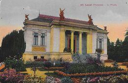 Laval (Mayenne) - Le Musée - Carte Colorisée N° 291 Non Circulée - Musées